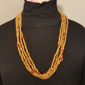 Tribal Multi Strand Necklace